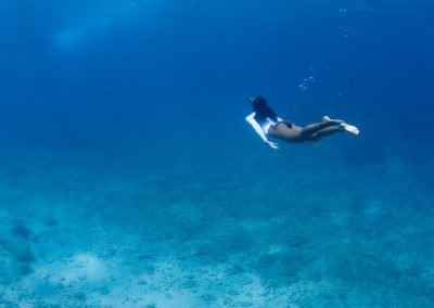 snorkeling – under water